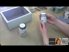 Декор и декупаж короба в стиле Прованс: видео мастер класс Оксаны Пахомовой - YouTube