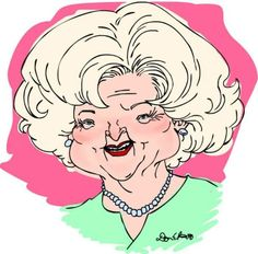 Best caricature of a female comedian...Betty White