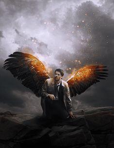 Supernatural Series, Supernatural Wallpaper, Supernatural Destiel, Dexter Series, Castiel Angel, Angels And Demons, Misha Collins, Cultura Pop, Jared Padalecki
