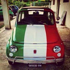 Italian car Fiat Cinquecento, Fiat 500c, Fiat Abarth, Vespa Lambretta, Cute Cars, Italian Style, Italian Chic, Vintage Cars, Supercar