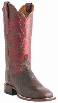 Lucchese Since 1883 - M5819 - Ladies� Lucchese Horseman with �Zurich� Embossed Leather Design