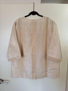 Kimono blouse made of Vintage Silk