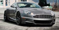 Lowered Aston Martin DBS on PUR 9INE
