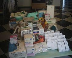 juni 2009 - Pakket met verbandmiddelen voor Chiripaina