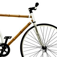 Bamboo Bicycle. Discover this astonishingly light and stylish bicycle. Made of sustainable bamboo, not only is this ride environmentally friendly but it is built for city-riding and is ultra chic.