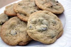 The best chocolate chip cookies! Don't miss this amazing recipe! www.skiptomylou.org