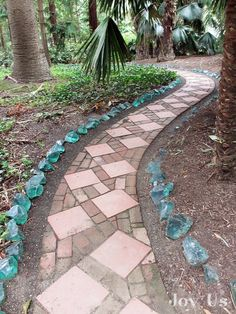 In 'Heaven is a Garden' I write about the Blue Garden at the Lotusland in Santa Barbara, Ca.  Photo by The Garden Lovers Tour for National Public Gardens Day.