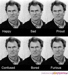 Clint Eastwood....lol