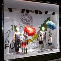 "MARKS AND SPENCER, London, UK, ""The Art of Fun"", creative by Harlequin Design, pinned by Ton van der Veer"