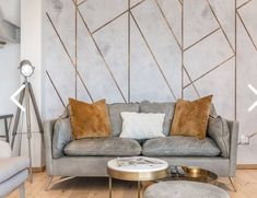 Proof that wallpaper really does bring it all together. This high end airbnb rental is just wow thanks to the awesome team efforts of this… Airbnb Rentals, Wall Design, Bring It On, Throw Pillows, Wallpaper, Awesome, Instagram, Home, Toss Pillows