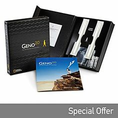 The ultimate family ancestry tool from National Geographic Explorer-in-Residence Dr. Discover your journey into the past with The Genographic Project. Geno Next Generation Genographic Project Participation and DNA Ancestry Kit Dna Testing Kits, Dna Kit, Dna Genealogy, Ancestry Dna, National Geographic, Unity In Diversity, Genetics, Bago, Family History