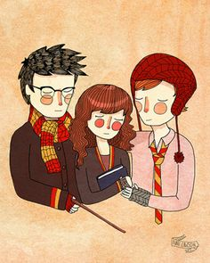 Harry, Hermione e Rony - Friendship and Bravery