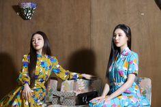Chung Ah, Girls Together, K Idols, Korean Singer, Photoshoot, Cute, Dresses, Kpop, Bright