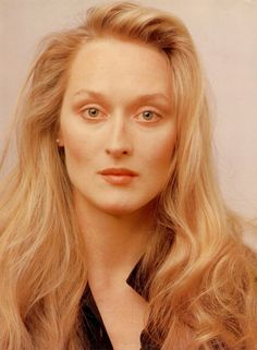Meryl Streep | 28 Sexy Pictures Of Older Actors When They Were Young...omg ..so faulously beautiful at that age..irridescent