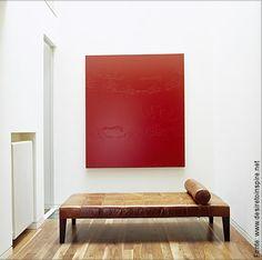 quadro vermelho