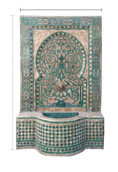 Moorish tile work,how this can translate into bead work.