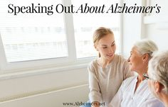 Speaking Out About Alzheimer's