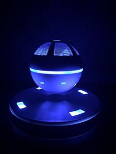 This floating bluetooth speaker is crazy cool!