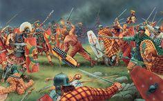 Romans against Britons