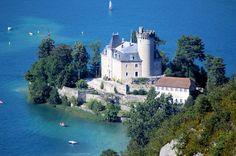 Château de Duingt, lac d'Annecy, French Alps