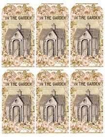 Lilac & Lavender: In the Garden ~ gift tags