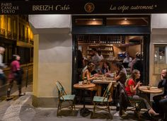 Enjoy our delicious and authentic Breton Crepes and Galettes with the best Ciders in our distinctive Crêperies in Paris, Cancale, Saint-Malo, and Japan.
