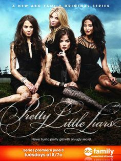 Pretty Little Liars 11x17 TV Poster (2010)