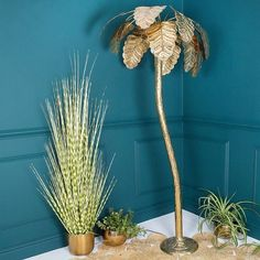 Palm Tree Floor Lamp - available from Audenza