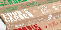 Foodie Garden - The Dieline -