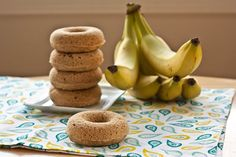 banana breakfast donuts