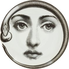 "Plate 159 from Piero Fornasetti's ""Theme and Variations"" series"