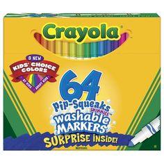Crayola Marker (64 Count) (Set of 3)