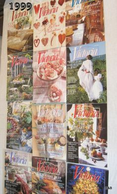 Victoria Magazine Back Issue  April 1999 Last One by byeandbuy, $4.00