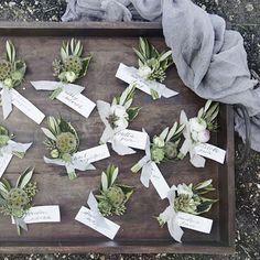 Flowerona Links: With boutonnières, paper flowers & a farmer... | Flowerona (Image : Wilder Floral Co)