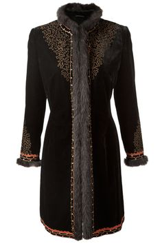 East Embroidered Russian Coat - Winter Coats & Jackets 2012 (houseandgarden.co.uk)