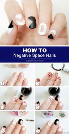 ΒΗΜΑ ΒΗΜΑ ΠΩΣ ΘΑ ΚΑΝΕΙΣ ΤΑ 3 ΠΙΟ ΤΕΛΕΙΑ NEGATIVE NAILS ΣΧΕΔΙΑ ΣΤΑ ΝΥΧΙΑ ~ staxtopouta  #negativespaceart #nails