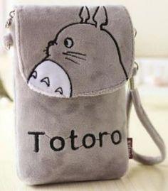 Totoro Plush Mini Pouch - MIMO Pencil Case Shop  - 1