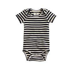 J.Crew - Baby one-piece in classic stripe