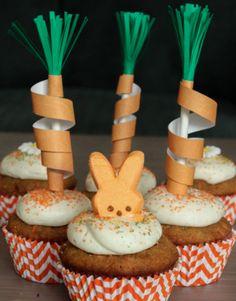 Cupcake aux carottes...un délicieux petit gâteau! #cupcake #carotte #gâteau #enfants