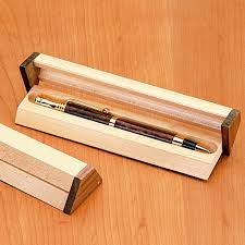 Woodworking Pen Wooden Hand Made Pens And More One Of A Kind Wood Crafts Docs, Long Wood Style Gold Click Pen Turning Hardware Kit Rockler, Pen Turning Life Part Two, Dark Hardwood, New Pen, Pen Turning, Pen Case, Wooden Hand, Wood Lathe, Writing Instruments, Storage Organization, Wood Crafts