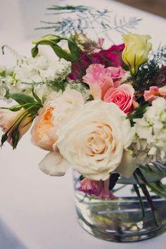 gorgeous floral design // photo by Khaki Bedford, flowers by Foxglove Floral Design // http://ruffledblog.com/diy-mount-guilan-wedding
