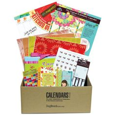 Enter for a chance to win this Calendars.com prize package filled with planners, calendars and stickers to keep you organized!    Ten lucky winners will each receive a gift pack of calendars, organizers and planners from Cal-endars.com. #win #free #giveaways #sweepstakes