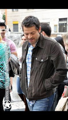 Misha Collins in Italy