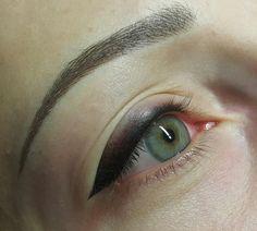 micropigmentación de eyeliner con efecto de sombra, espectacular http://www.consultoriodebelleza.com/post/micropigmentacion