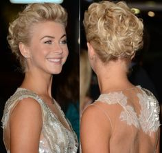 intricate curly updo