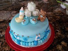 Boy Baby Shower Cake  By melzangel on CakeCentral.com