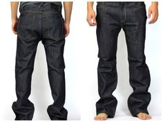 Premium quality Raw Jeans  denim for Men 100% cotton Classic fit Boot Cut style  #SoloSemore #BootCut