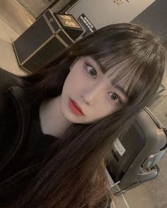 Pretty Girl Face, Uzzlang Girl, Cute Korean Girl, Kawaii Girl, Asia Girl, Woman Face, Pretty Hairstyles, Hair Goals, Cute Girls