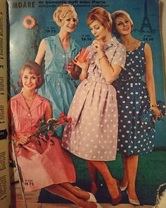 """41 Likes, 2 Comments - @vintage_junkie_87 on Instagram: """"From a Swedish mailorder catalogue of summer 1961 """"Karles Borås"""" 😍  #50s #1961 #1950s #60s #1960s…"""""""