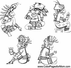 Native Americans coloring pages | Free Coloring Pages | 224x235
